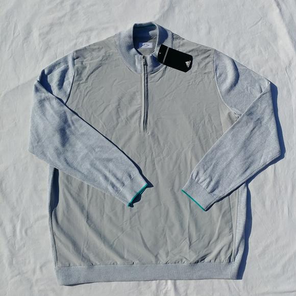 46b60d4db6e3 Adidas Men s Adi Pure 1 4 Zip Golf Sweater 2XL XXL